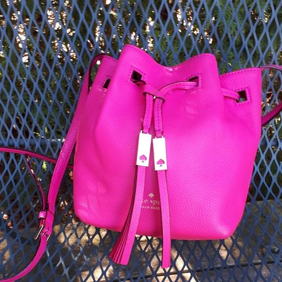 Kate spade Grey Street Tiny Cooper bucket bag